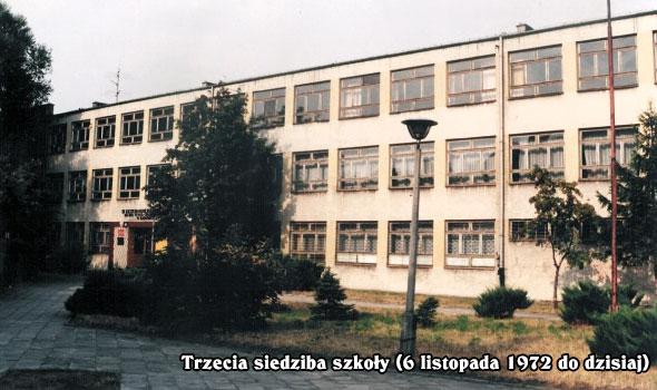 Trzecia siedziba naszej szkoły